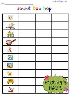 Printables Phoneme Segmentation Worksheets phoneme blending worksheets davezan pictures and boxes on pinterest abitlikethis