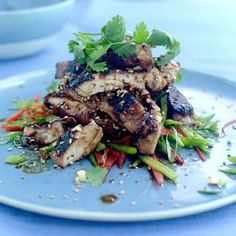Critically Acclaimed Chef Mike Ward takes you on a super tasty & often healthy journey through some of his favourite, mouth watering recipes. Thai Recipes, Healthy Recipes, Healthy Meals, Thai Chicken Salad, Wonderful Recipe, Gluten Free Chicken, Seafood, Tasty, Beef