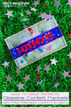 Patriotic Glassine C
