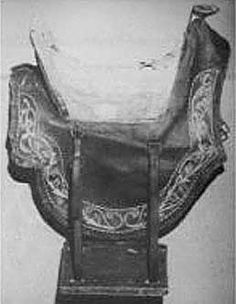 Probably a 17th century sidesaddle from the Hermes Museum in Paris