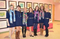 This just goes to show how versatile Lilly dresses are, this is the same dress worn 7 different ways!