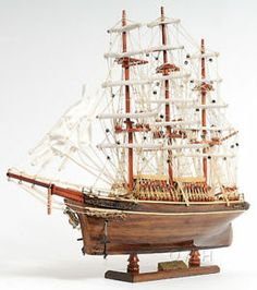The Cutty Sark Wooden Model Clipper Tall Ship Sailboat Build Your Own Boat, Wooden Ship, Boat Building, Model Building, Building Plans, Small Boats, Boat Plans, Wooden Boats, Tall Ships