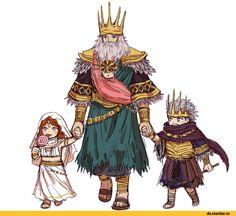 Gwynevere,DS персонажи,Dark Souls,фэндомы,Lord of Cinder Gwyn,Gwyndolin,Nameless King,DSIII персонажи,Dark Souls 3,DS art