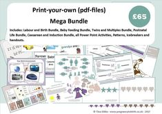 Mega Bundle (Print-your-own pdf files)