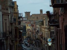 As I walked to the Piazza in Carini Sicily, Street View, Culture, Beautiful