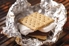 Made these in the toaster oven at work.  They were less messy if I toasted the marshmallow on a cracker then then topped with chocolate and second cracker when removed from toaster over.  Everyone at the office loved them.