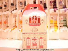 Etude House flagship store shopping bag