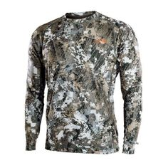 Base Layers 177867: Sitka Gear Core Lightweight Crew Ls Whitetail Optifade Elevated Ii Camo! L Large -> BUY IT NOW ONLY: $59.99 on eBay!