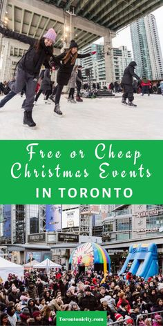 Free or Cheap Christmas Events in Toronto 2019 #free #cheap #events #Toronto #Christmas #holiday #2019 #thingstodo #Christmasevents