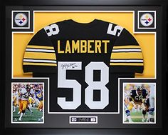Jack Lambert Pittsburgh Steelers Premier Jerseys