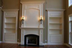 DH Custom Homes, custom hearth-room and fireplace in Ladue, MO
