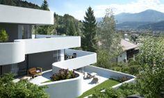 CARISMA Immobilien Wohnfprojekt Hötting-Allerheiligen Terrassen Design, All Saints Day, Porches, Real Estates, Projects, Homes