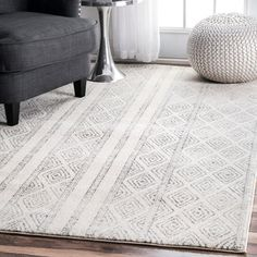 Shop for nuLOOM Contemporary Geometric Diamond Grey Rug (9' x 12'). Get free shipping at Overstock.com - Your Online Home Decor Outlet Store! Get 5% in rewards with Club O!