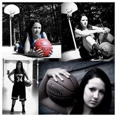 Basketball Senior Picture Ideas | basketball senior pics. | Senior photo ideas
