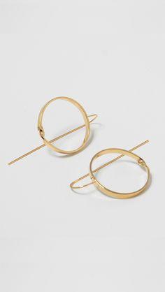 le hen circle earring