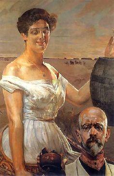 Jacek Malczewski - At the Well 1909