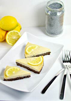 In this vegan lemon pie, fresh light filling contrasts with a rich poppy seed crust and creates an amazing explosion of flavors.
