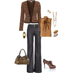perfect for the office... :-), created by stacychidaushe.polyvore.com