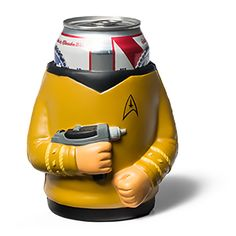 Your belly. The final frontier.  Boldly go where no other PBR has gone before with our officially licensed Captain Kirk Star Trek Drink Kooler! Why you ask? Because getting hammered is fun... but