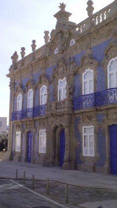 Palácio Conde do Raio, em Braga.
