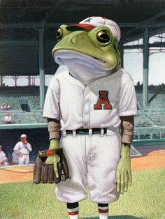 C.F. Payne baseball frog                                                                                                                                                     More