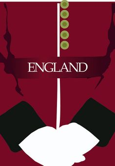 Royal Guard Travel Poster for England by maddieandmarry on Flickr