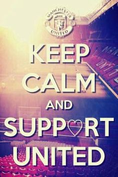 Keep calm and support Manchester United. Sting Like A Bee, Premier League Champions, Best Football Team, Bible Words, Manchester United Football, United We Stand, Play Soccer, Old Trafford, Man United
