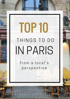 Top ten things to do in Paris from local's perspective. Avoid some of the most touristy things, and experience Paris like a local - a biking route around the city is included! Paris Bucket List, Paris Things To Do, Paris Travel Tips, Travel Ideas, Paris Packing, Travel Guide, Paris Itinerary, Voyage Europe, Paris Ville