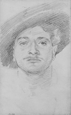 John Singer Sargent Man in a Hat