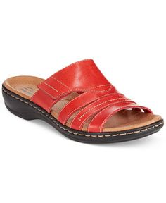 4cce5c654 Clarks Collection Women s Leisa Grove Flat Sandals (Only at Macy s)    Reviews - Sandals   Flip Flops - Shoes - Macy s