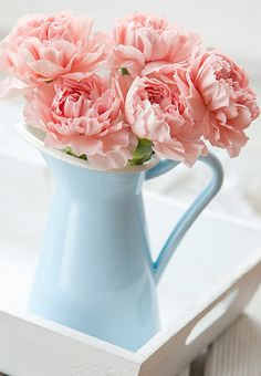 I have this vase from Ikea and love to put peonies in it.