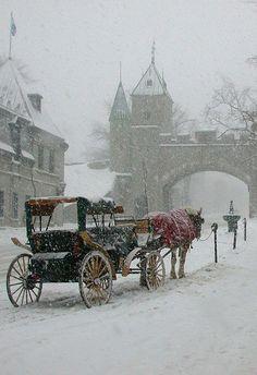 Quebec city caleche - Canada