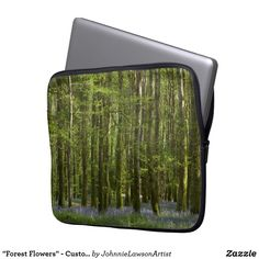 Choose from a variety of laptop sleeves or make your own! Shop now for custom laptop sleeves & more! Forest Flowers, Computer Sleeve, Custom Laptop, Wonderful Images, Laptop Sleeves, Products, Gadget