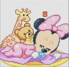 Cross Stitch *<3* Minnie