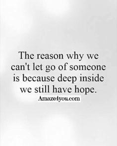 We still hope.