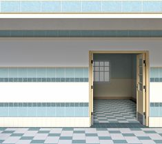 INT EAST PARK HIGH DOOR OPEN DAY Anime scenery Episode backgrounds Episode interactive backgrounds