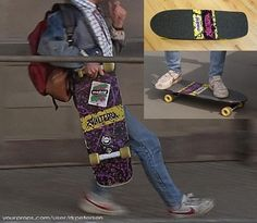Screen Shots of the Back To The Future skateboard.