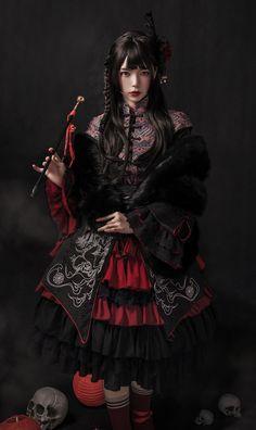 Your Highness -Kylin- Qi Lolita Dress Set,Lolita Dresses, Kawaii Fashion, Cute Fashion, Girl Fashion, Fashion Dresses, Rock Fashion, Fashion Fashion, Lolita Cosplay, Gothic Lolita Fashion, Lolita Style