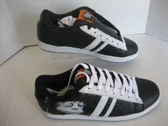 Lakai Mens Limited MJ3 Where the Wild Things Are Black/White Leather Shoes Sz 10 #Lakai #Skateboarding