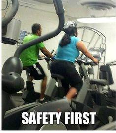 Stationary bikes are danger!