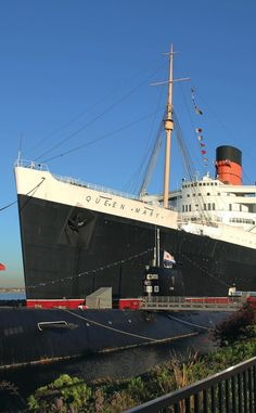 The Queen Mary Hotel   Travel   Vacation Ideas   Road Trip   Places to Visit   Long Beach   CA   Historic Site   Engineering Marvel   Tourist Attraction   Hotel   Museum   TV Filming Location   Unique Stay