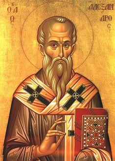 Santo Alexandre, bispo, 26 de janeiro