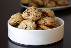 Pecans browned in butter make this recipe for butter pecan chocolate chip cookies extra special. These cookies are perfect for lunchboxes.