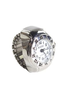 Time on Your Hands Ring.  I hate wearing a watch at work because it clunks on the desk, but this would be great!