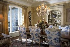 [ Featuring The Country Dining Room Design Ideas French ] - Best Free Home Design Idea & Inspiration French Country Dining Room, French Country House Plans, French Country Decorating, Country French, French Decor, French Dining Rooms, Country Living, French Country Furniture, French Interior