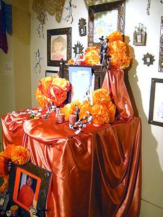 Day of the Dead Altar - to honor those special ones who have gone before us