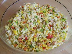 Chefkoch.de Rezept: Reisnudel - Salat