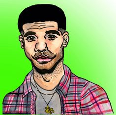 Hip Hop Art - Drake  www.loyallisteners.net