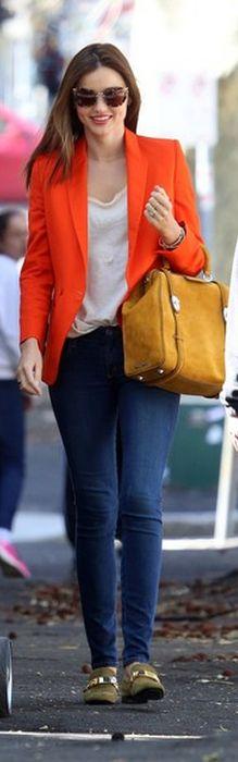 Jacket - Stella McCartney Purse - Miu Miu Shoes - Celine Jeans - Nobody Shirt - Rag & Bone Miu Miu CAT EYE TORTOISESHELL-ACETATE SUNGLASSES Front Button Blazer