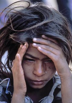 Face of Poverty. the worst pain to look at is that which children endure.